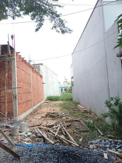 Cần bán lô đất mặt tiền đường Ấp 2, Đa Phước , huyện Bình Chánh, 85m2,  giá 470 triệu